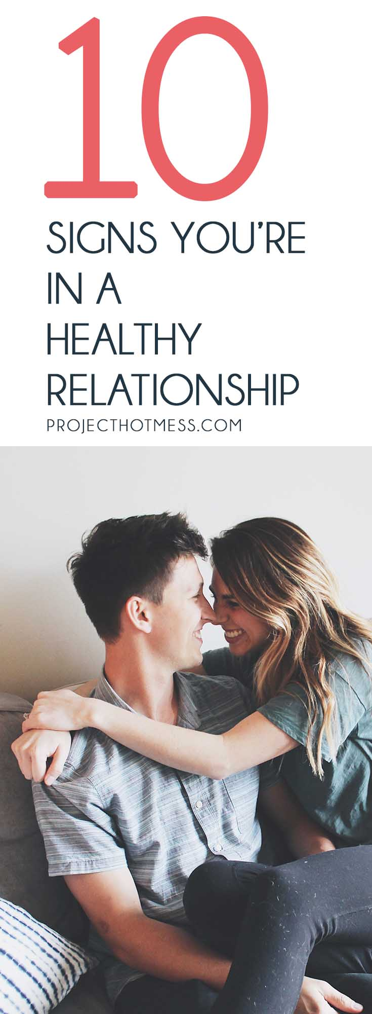 Relationships are hard work, and for some of us we can get stuck in a toxic relationship. But how do you know when you're in a healthy relationship instead? Here are some of the most obvious, but sometimes overlooked, signs that you're in a healthy relationship! Relationships   Relationship Goals   Happy Relationships   Marriage   Happy Marriage   Marriage Goals   Married Life  