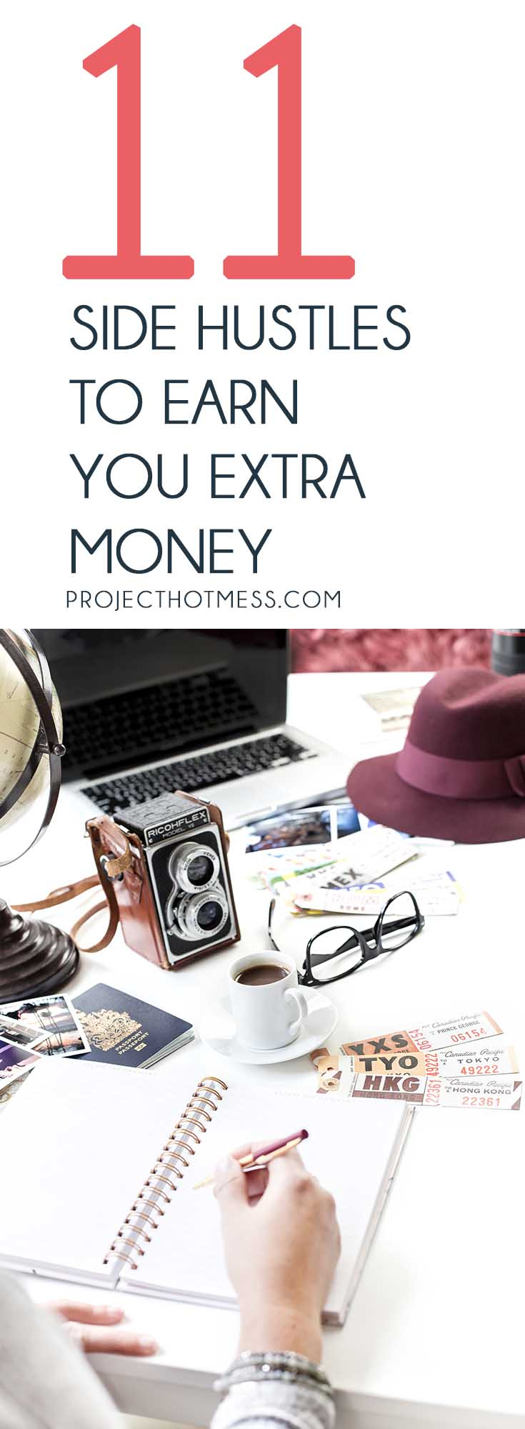 Have you been considering a side hustle to help you earn some extra money? Not quite sure what to do? These 11 side hustle ideas have you covered.