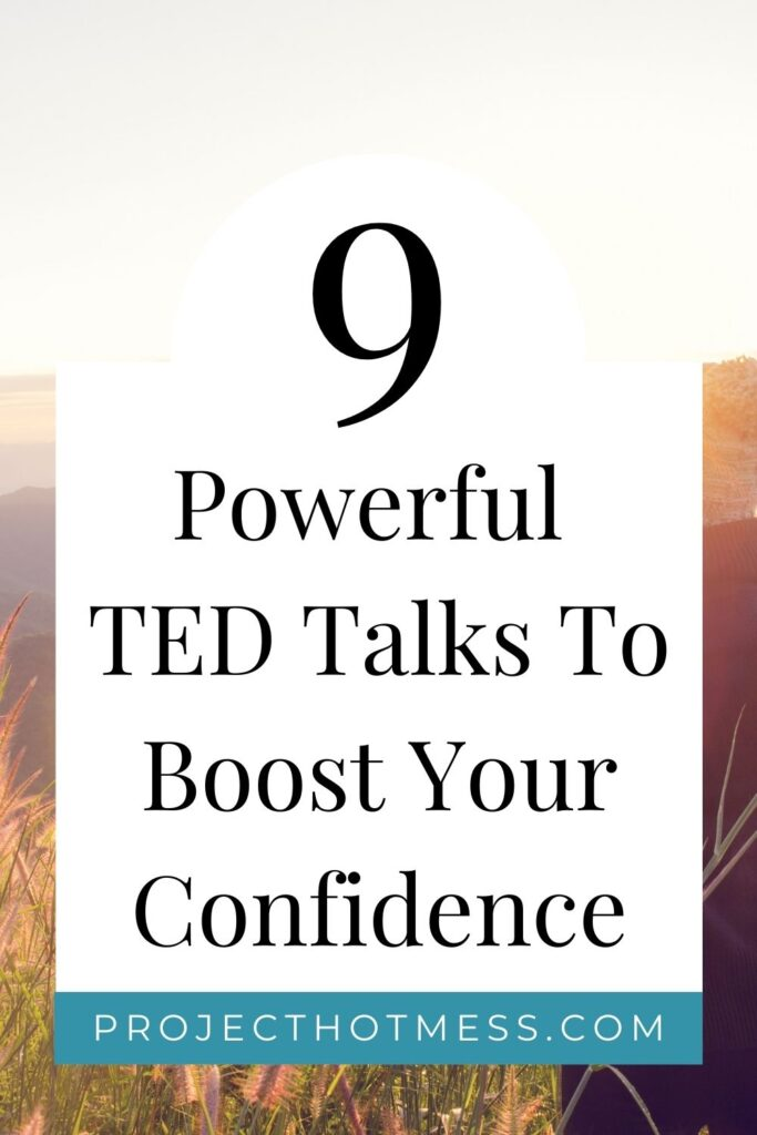 Every now and then we need a confidence boost, sometimes more than others. Listen to these TED talks to boost your confidence and motivate you to get out and achieve all of your goals. Be sure to save the page so you can come back and keep your inspiration going.