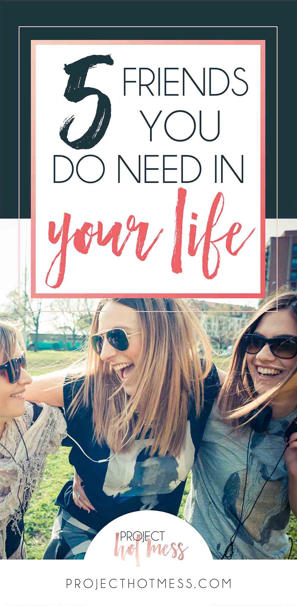 While sometimes it's easy to just focus on the people who are toxic and draining, it's also important to acknowledge the friends you do need in your life! And we think everyone needs these 5 people in their life!
