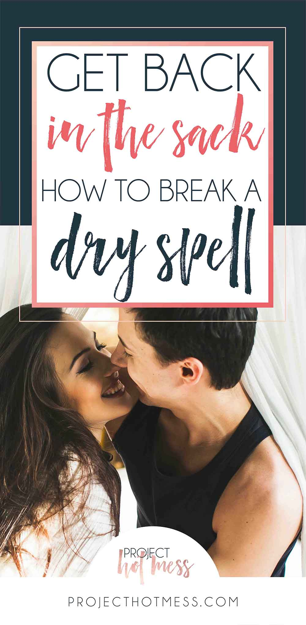 There are a lot of things that can trigger off a dry spell in a relationship, having a baby is definitely one of them. Here's how you can get back into it!