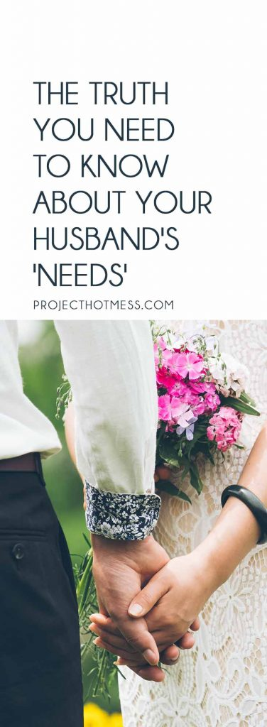 I saw an infographic about a husband's needs and a wife's needs and it was appalling. Here's the truth and what you really need to know about marriage needs and the needs of our spouses. Relationships | Marriage | Partner | Marriage Advice | Marriage Goals | In Love | Love | Marriage Problems | Spice Up Your Marriage | Marriage Ideas | Happy Marriage | Relationship Goals | Relationship Advice | Relationship Tips | Relationship Problems