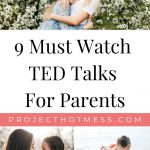 These TED Talks for parents will challenge the way you think about parenting and will make you a better parent for it. Inspiring talks for all parents. We all want to be a better parent, but sometimes it feels like we are getting lost in motherhood. These TED Talks make you feel like you're not alone in the mommy guilt, and will inspire you and remind you that you are an amazing mom.