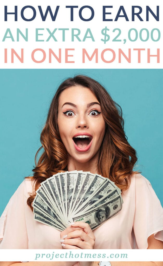 There are times when you need to earn some extra money, fast. This is how I earned an extra $2000 without leaving the house, without signing up to any surveys, MLM companies or working my butt off. I did it all from home and you can do it too. What would an extra $2000 mean to you?