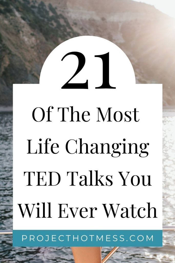 TED Talks can inspire and motivate you, but amazing TED Talks can change your life. These are some of the most life changing TED Talks you will ever watch, covering all areas of your life. If you're looking for some self improvement, personal development, or just want to work on a better version of you, these TED Talks will help inspire you and challenge your way of thinking.
