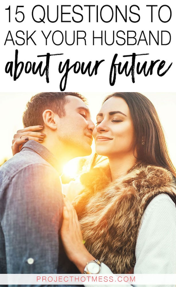 We all know communication in marriage is important, so get chatting with these questions to ask your husband about your future. Whether you're looking for things to chat about on date night, for Valentine's Day, as a way to celebrate your anniversary, or even just for fun, these questions will help you to communicate better, understand each other more, and plan for your future together! Have fun planning your life!
