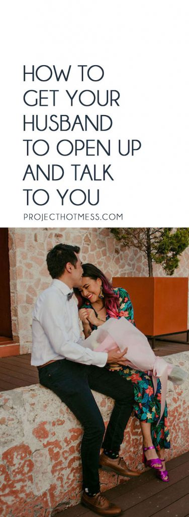 Do you ever wonder how to get your husband to open up and talk to you when you can barely hold a conversation without either fighting, or just not being able to get his attention? Communicating in your marriage isn't always as difficult as it may seem. Use these communication strategies to help you reestablish those lines of communication, get your husband chatting again, and enjoy your happy marriage.