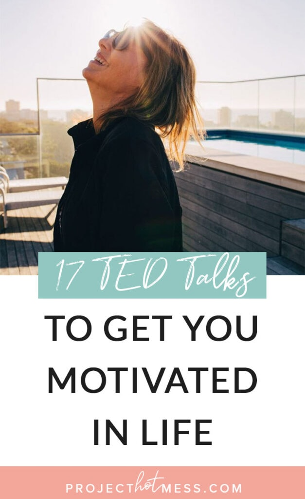 These are the best TED Talks to get you motivated in life, inspire you to take action and challenge your way of thinking about what you want in your life.
