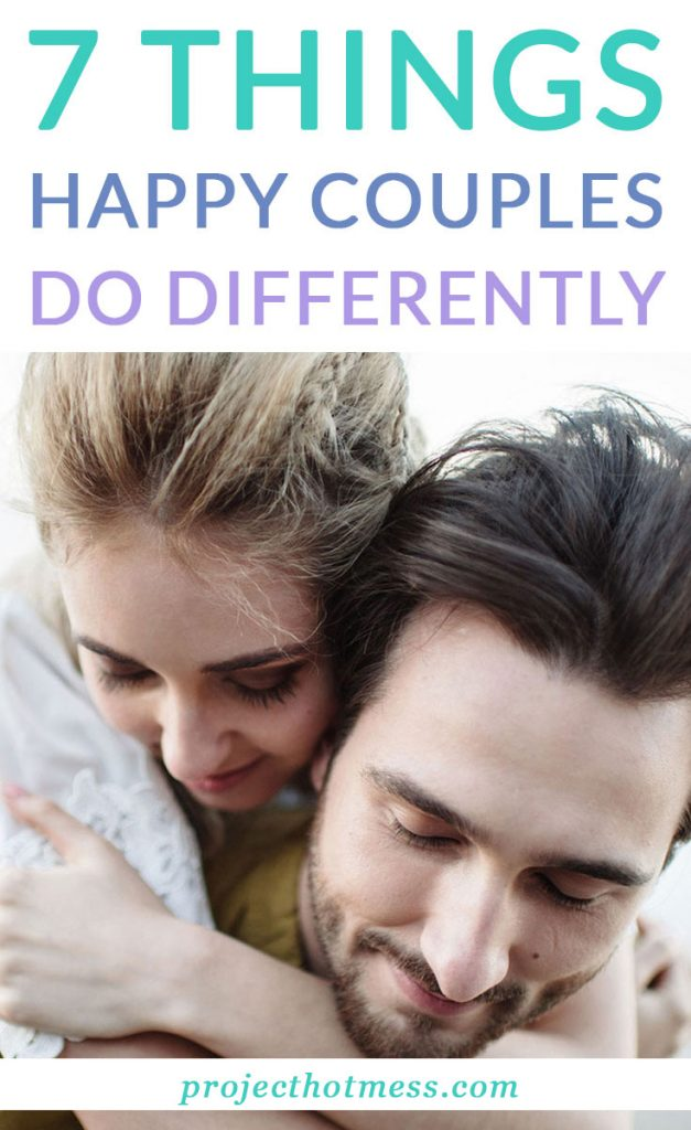 When you're in a happy relationship, you know you've got something special. There are certain things happy couples do differently, habits they create and things they do that make them stand out. These are some of the things that happy couples do differently.