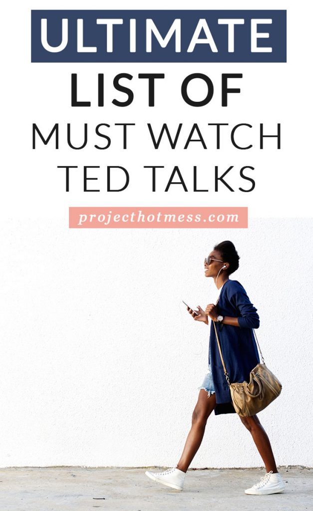 Need some motivation and inspiration in your life? What better place to look than TED Talks? We have the Ultimate List Of TED Talks - broken down into playlists for you to pick whatever topic you want, and just save and watch whenever you want.