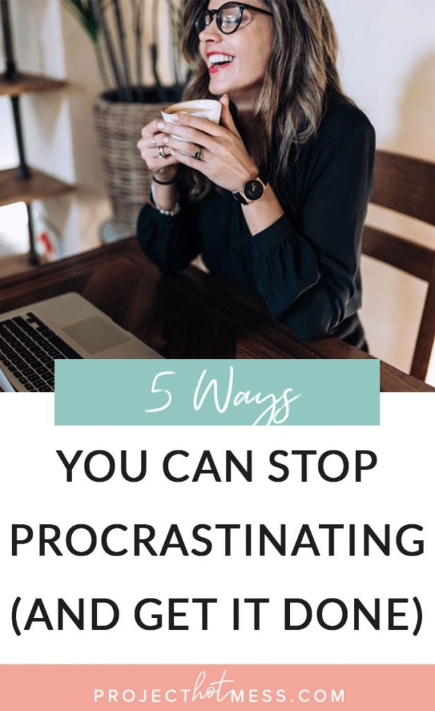 Procrastinating is something we all do, but the ability to stop procrastinating and get it done is a skill we should all learn. Here are some ways you can stop procrastinating today and be more productive.