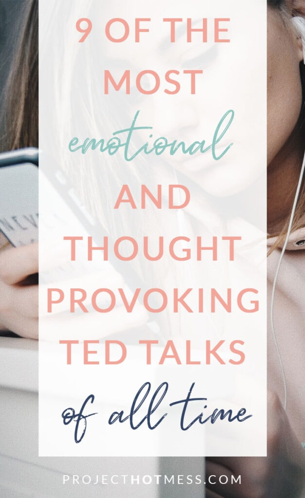 TED Talks are designed to challenge your way of thinking, and some do this far better than others. These are some fo the most emotional and thought provoking TED Talks of all time, ones that will make you sit back and see the world from a different angle, and maybe even make you tear up.