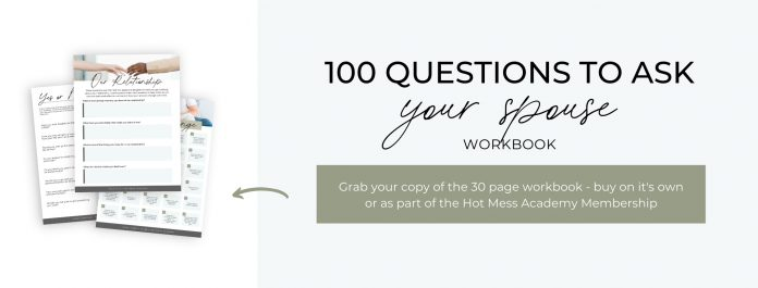 100 questions to ask your spouse