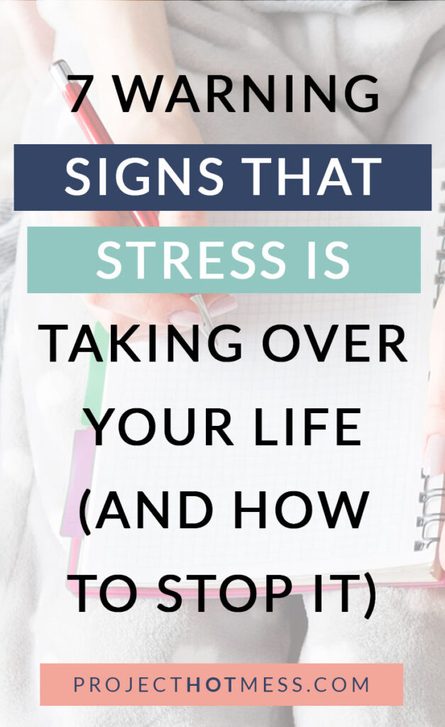 We hear a lot about stress nowadays. The truth is that stress is natural and in some instances positive. So why is it framed as such a bad thing? Because we have too much of it in our modern culture. Too much stress can cause many problems. Here are 7 warning signs that stress is taking over your life and how you can stop it!