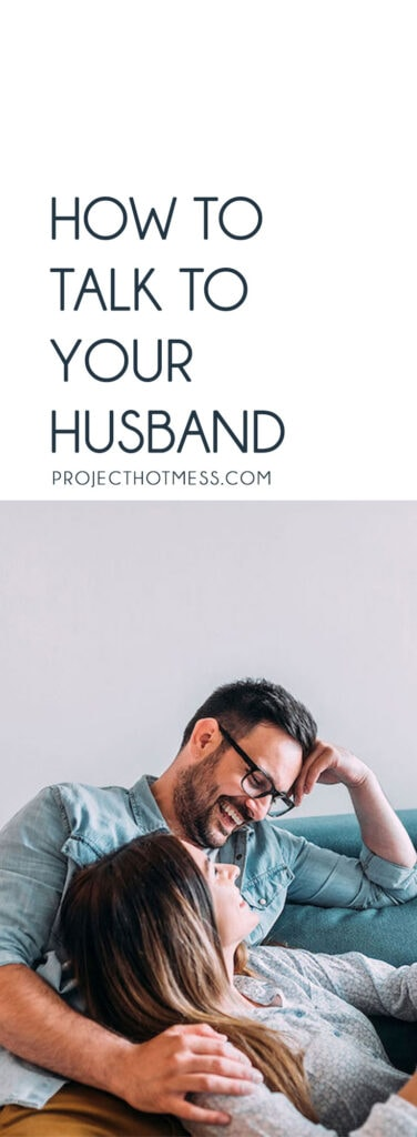 We've all heard that communication is key in marriage. You love talking to your significant other in the beginning. But before you know it, life gets in the way and you find that you no longer know how to talk to your husband. It shouldn't be this way! Here are some tips on how to clearly communicate and talk to your husband.